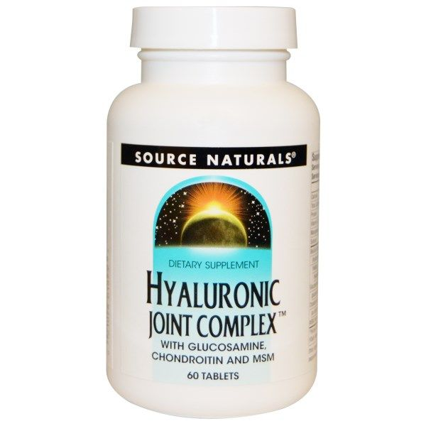 Hyaluronic Joint Complex (60 Tabs) Source Naturals